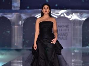 Kareena Kapoor Khan S Glam Avatar At The Lakme Fashion Week Winter Festive