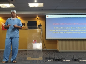 Sparsh Foundation Guru Namana Aims Conduct 100 Knee Replacement Surgeries