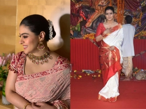 On Kajol S Birthday Her Top Sari Moments