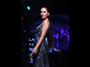Esha Gupta S Showstopper Look At Lakme Fashion Week Winter Festive