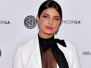 Priyanka Chopra Neon Pink Eye Makeup Look At Beautycon La