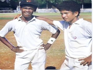 Sachin Tendulkar Shares School Days Photo With Vinod Kambli