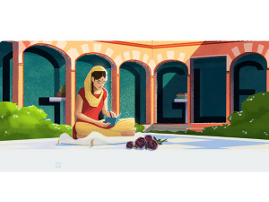 Google Doodle Celebrates Amrita Pritams 100 Birth Anniversary