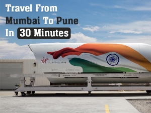 Hyperloop Train To Connect Pune Mumbai In 30 Minutes