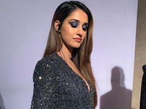 LFW W/F 2019 Day : Disha Patani Walked The Ramp In An Exotic Blue Eye Look