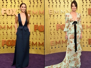 Lena Headey Emilia Clarke And Other Game Of Thrones Actresses At Emmy Awards