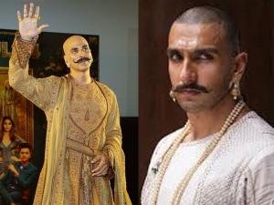 Akshay Kumar S Housefull 4 Look Is Similar To Ranveer Singh S Bajirao Mastani Look