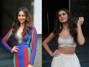 Rakul Preet Singh And Tara Sutaria S Fashion For Marjaavaan Trailer Launch