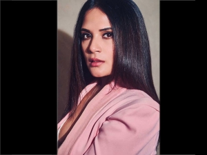 Richa Chadha In A Formal Wear For Section 375 Promotions