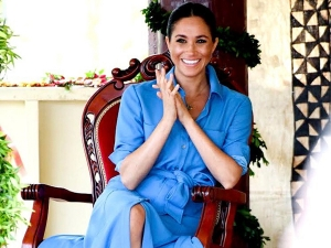 Meghan Markle In A 69 Pounds Dress For Her Royal Tour To Africa