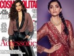 Sonam Kapoor Ahuja On The Cosmopolitan 2019 Cover And In Red Outfitfor The Zoya Factor