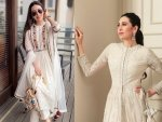 Karisma Kapoor In White Traditional Outfits For Events