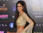 Bharat Actress Katrina Kaif In A Golden Lehenga At Iifa Awards