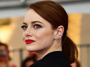 Emma Stones Red Hair Look Revealed