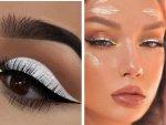 White Make Up Looks For Navratri