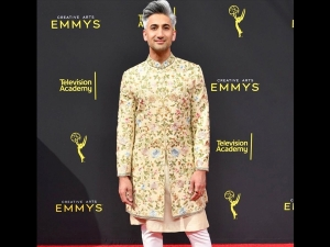 Queer Eye S Tan France In A Traditional Outfit At Emmy Award
