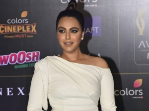 Veere Di Wedding Actress Swara Bhasker In A White Gown At The Iifa Awards