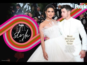 Priyanka Chopra Jonas And Nick Jonas Topped People Magazine S Best Dressed List