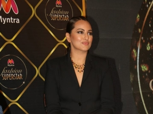 Mission Mangal Actress Sonakshi Sinha In A Classy Avatar At Myntra S Digital Store Launch
