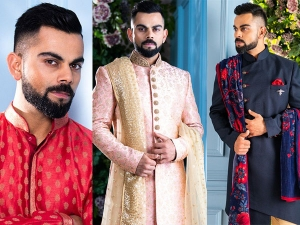 Virat Kohli Gives Traditional Goals For Wedding With His Manyavar Jackets