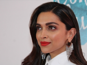 Deepika Padukone In A White Outfit At The Live Love Laugh Foundation In New Delhi