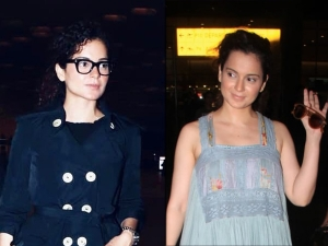 Manikarnika Actress Kangana Ranaut S Blue Airport Outfits