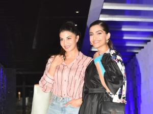 Sonam Kapoor Ahuja And Jacqueline Fernandez Spotted In Cool Outfits