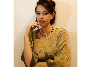 Sacred Games Actress Kalki Koechlin In An Elegant Attire For Sir The Film Screening