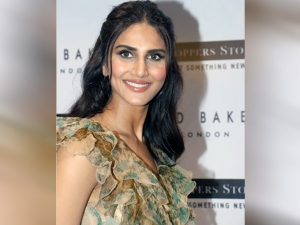 War Actress Vaani Kapoor In A Floral Ruffled Dramatic Gown At Ted Baker Watch Launch