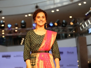 Taapsee Pannu S Showstopper Look For The Melange Event In New Delhi