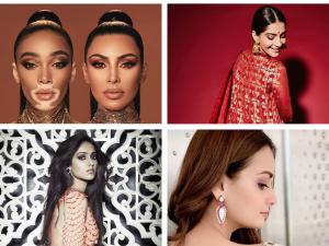 Instagram Beauty Trends This Week Kim Kardashian Ileana Dcruz Sonam Kapoor Dia Mirza