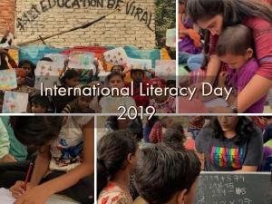 International Literacy Day Pehchaan Street School Delhi Empowering Slum Kids Knowlege