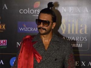 Ranveer Singh S Quirky Look At Iifa Awards