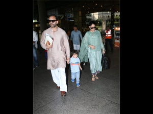 Kareena Kapoor Khan Spotted In Salwar Suits At The Airport