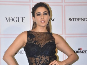 Sara Ali Khan S Black Dress For Vogue Beauty Awards