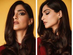 Sonam Kapoor Rocked An Impressive Crease Eyeliner Look Her For The Zoya Factor Promotions