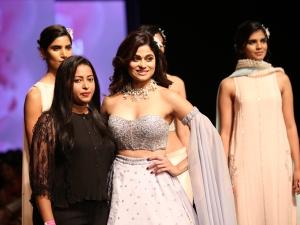 Shamita Shetty S Showstopper Avatar At Lotus Makeup India Fashion Week