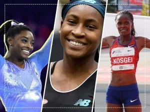 Simone Biles Coco Gauff And Brigid Kosgei These Sportswomen Set New Records In Different Sports