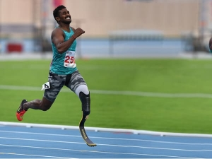 Blade Runner Anandan Gunasekaran Lost Left Limb But Has Triple Gold To His Credit