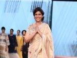 Sakshi Tanwar Showstopper Look At The Lotus Make Up India Fashion Week