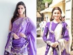 Purple Traditional Outfits From Bollywood Divas For This Navratri
