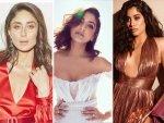 Kareena Kapoor Khan Anushka Sharma And Janhvi Kapoor In Gowns At Elle Beauty Awards