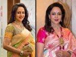 Five Sari Looks Of Dream Girl Hema Malini On Her Birthday