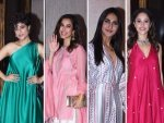 Nushrat Bharucha Vaani Kapoor And Other Celebs At Diwali Bash Organised By Manish Malhotra