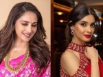 Stunning And Beautiful Saris From Bollywood Divas Festive Wardrobe For This Diwali