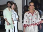 Preity Zinta And Mira Rajput Kapoor In White Fusion Outfits For Diwali Bash