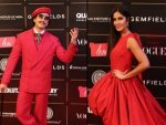 Katrina Kaif Janhvi Kapoor Ranveer Singh Warina Hussain In Red At Vogue