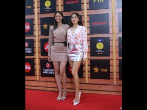 Janhvi Kapoor And Ananya Panday At Jio Mami