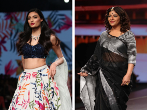 Athiya Shetty And Shazia Ilmi S Make Up Looks At The Lotus Make Up India Fashion Week Ss