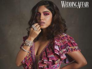 Saand Ki Aankh Actress Bhumi Pednekar Wears Hot Pink Make Up Look For Wedding Affair Magazine Cover
